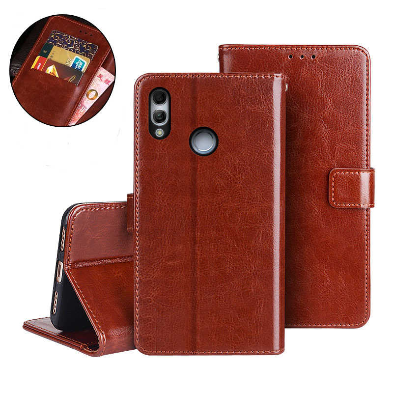 Huawei Honor 10 lite Case Flip wallet Leather Cover Case on the honor 10 lite light life honer 10lite 10light Phone Coque Bag