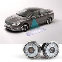 Автомобильный Ровер боковое зеркало заднего вида лужа огни Призрак Тень Добро пожаловать логотип проектор для 2007- серии Lincoln