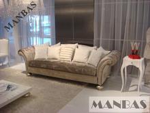 Sofá de tela de lino de muebles para el hogar sofá / de terciopelo tela sofás sofá de la sala / sección / esquina plazas