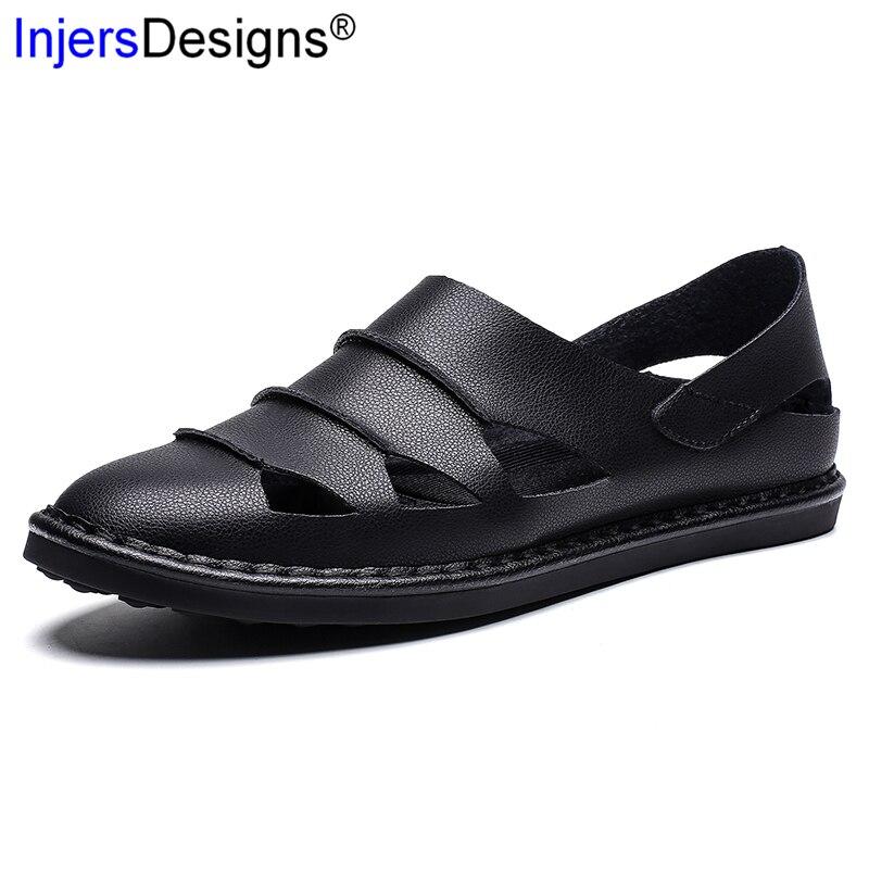 Grande taille 38-48 D'été chaussures hommes décontractées Slip-On chaussures à trou perméables Hommes mocassins Mode 6 Couleurs Mocassins Conduite Sandales