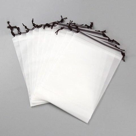 1pc Drawstring Swimming Bags Transparent Clothes Bag Sports Travel Storage Bags 3 Styles Karachi