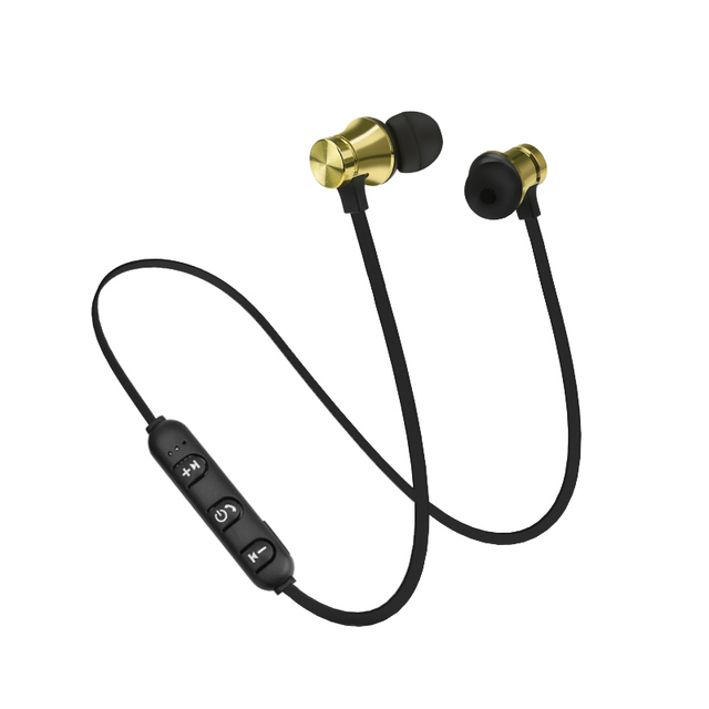 Magnetic Wireless Bluetooth Earphone In-ear Sweatproof XT 11 Bass Stereo Headset Sport Running with Mic Earpiece