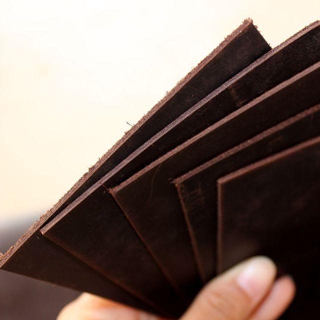 Бесплатная мм доставка 10*18 см сумасшедшая кожа верхний слой Коричневая кожа толщина Ретро яловая кожа 2 мм Материал