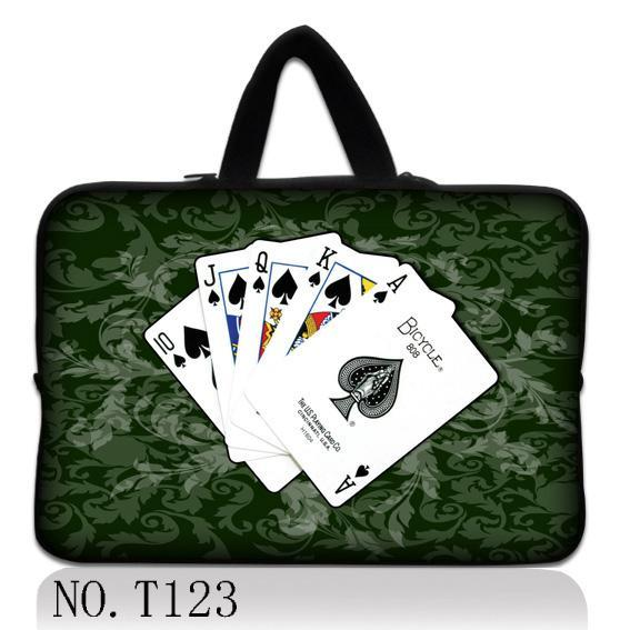 "Play Cards Soft Carry Sleeve Case Bag Cover For 13"" 13.3"" Macbook Pro Air Dell Laptop"