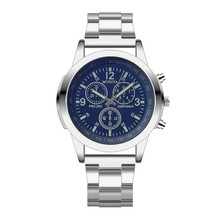 Hot Mens Watches Top Luxury Brand Stainless Steel Sport Quar