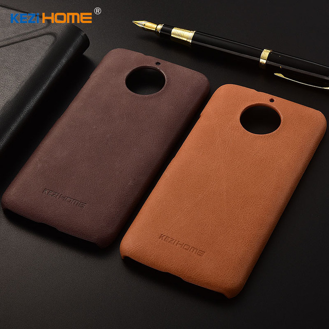 buy popular eafe3 bda29 US $12.71 |For Motorola Moto G5S case PC Hard Genuine leather Back Cover  for Motorola G5S plus fitted Case shell-in Half-wrapped Case from  Cellphones ...