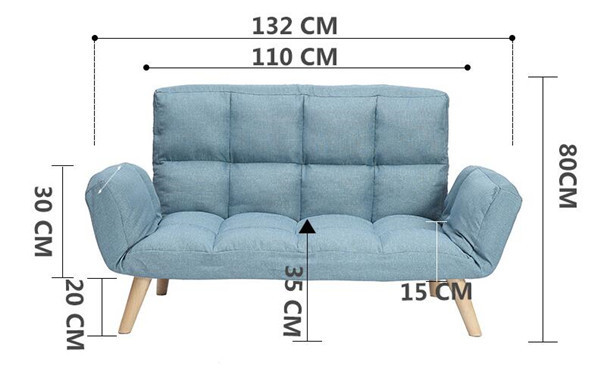 Small Living Room Folding Sofa