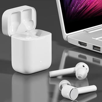 [Plaza ] Xiaomi Airdots Pro TWS AIR  Wireless Bluetooth Headset Earphone with mic Stereo ANC Switch Auto Pause Tap Earbuds IPX4 2