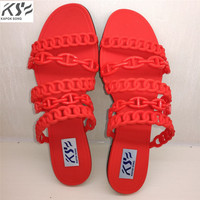 2017 Summer H Sandals Women Jelly Shoes Transparent Crystal Comfortable Ventilation Shoes Sexly Luxury Brand Designer