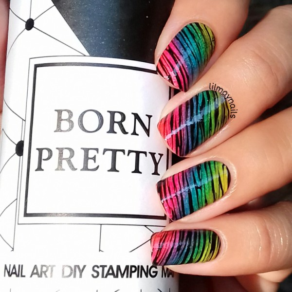 BORN PRETTY Silicone Nail Stamping Mat 21*15cm Foldable Washable ...