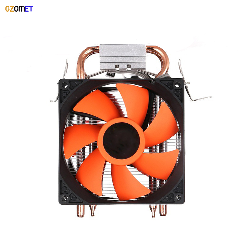 Dual Fan Hydraulic Heatpipe CPU Cooler Fans Cooling Heatsink Radiator Intel AMD Pentium Processor vakind mute computer cooling fan cpu cooler 35pcs heatsink double heatpipe radiator for intel amd platforms cpu radiator