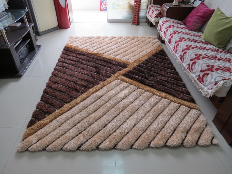 Disposable thickening 3d three-dimensional elastic wire carpet 300d filagreed living room coffee table bed rugDisposable thickening 3d three-dimensional elastic wire carpet 300d filagreed living room coffee table bed rug