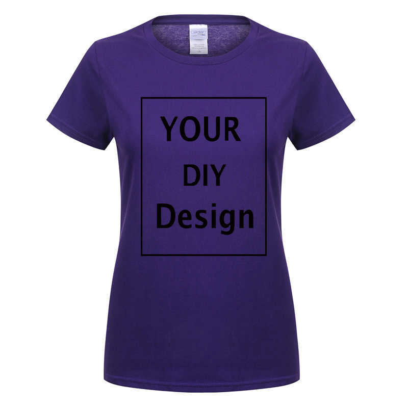 686f7ca3a ... DIY design Printed cotton T shirt for Women Tops Casual Brand Graphic  Tees Hipster Shirt Femme ...