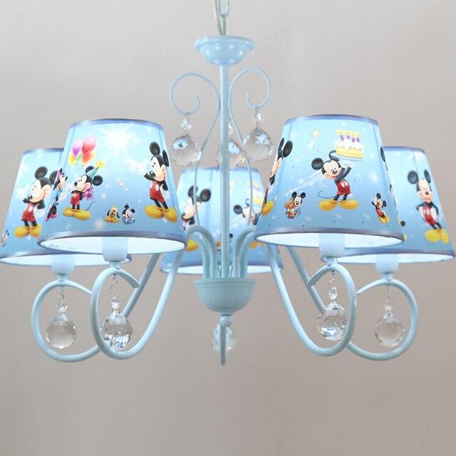 LED Soffitto Luce Del Pendente Del Fumetto Americano Semplice Cinque Lampadario  Camera Da Letto Dei Bambini