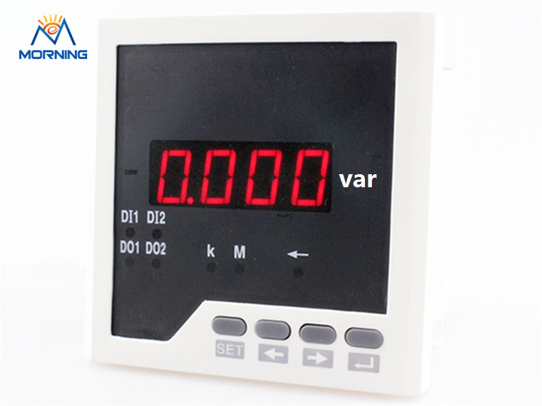 Q31 panel size 96*96mm high quality single-phase led digital reactive power measurement industry meter d6 4o panel size 72 72 low price and high quality ac single phase led digital energy meter for industrial usage