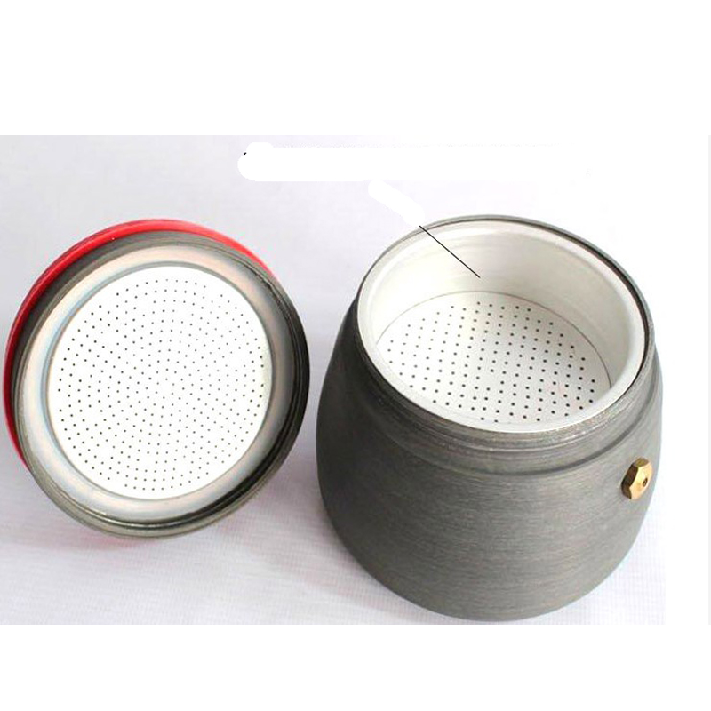Image 3 - 350ml outdoor camping tableware picnic coffee pot with cups can  be used to burn the stove aluminum alloy coffee machine cocoaOutdoor  Tablewares
