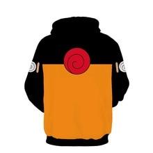 AC&DBZ New Kids Anime Hooded Cool Naruto Uzumaki Naruto 3d sweatshirt Hoodies Men women Fashion Street Jacket Hoodie Top