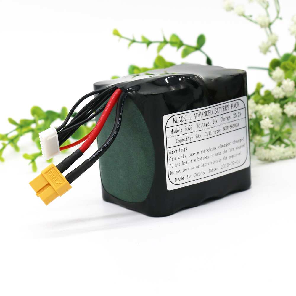 KLUOSI UAV Rechargeable Li-ion Battery 22.2V/25.2V 24V7Ah 6S2P Use Single Cell NCR18650GA Combination Suitable for Various DroneKLUOSI UAV Rechargeable Li-ion Battery 22.2V/25.2V 24V7Ah 6S2P Use Single Cell NCR18650GA Combination Suitable for Various Drone
