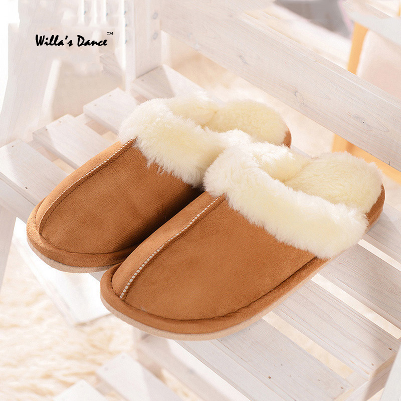 New Arrival 2016 font b Women b font Shoes Fashion Indoor Warm Wool Slippers font b