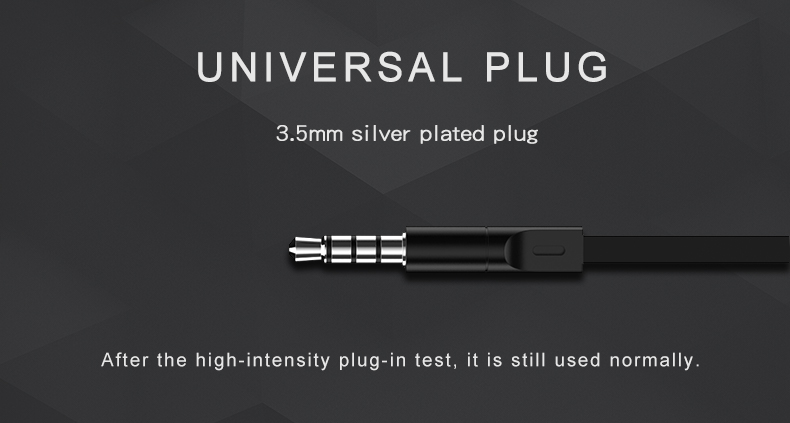 Original Brand Earbuds JM26 Headphone Noise Isolating in ear Earphone Headset with Mic for Mobile phone Universal for MP4 16