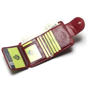 Image 3 - TAUREN kobiety wino czerwone portfele 100% torebki z naturalnej skóry olej krowa skóra Hasp krótka w stylu Retro designerska mała dla pań kobieta