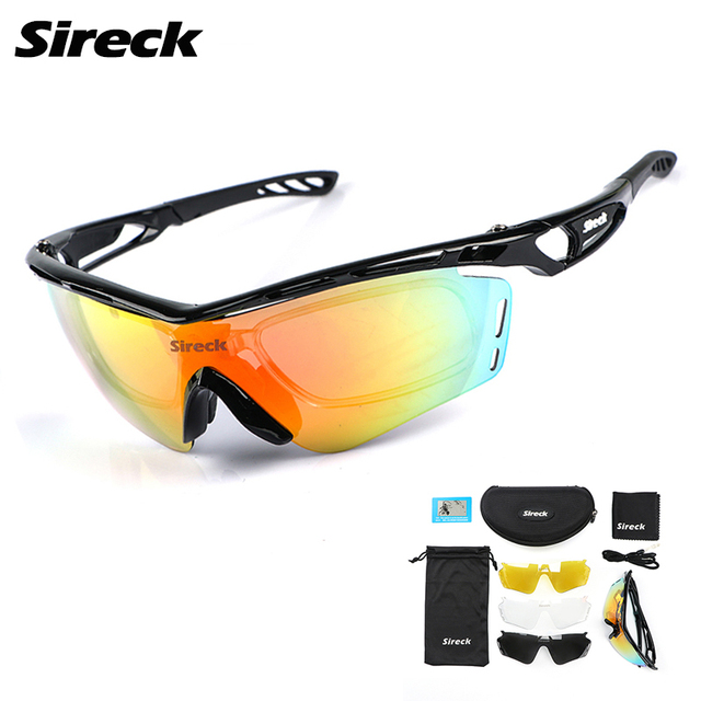 Sireck Cycling Glasses Polarized Cycling Sunglasses UV400 Men Women Outdoor Sports Driving Bicycle Bike Glasses Gafas Ciclismo