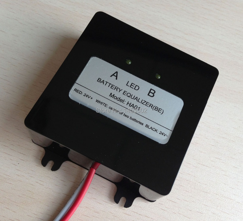 battery equalizer for 24V lead battery system