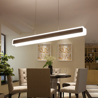 New modern LED pendant lights Fashion hanging decorative Strip pendant lamp Kitchen Living Dinging Room Light Fixtures