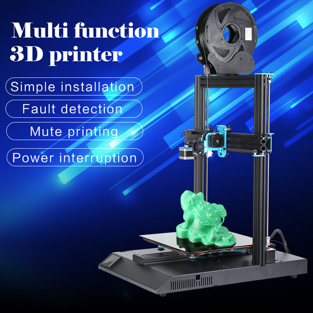 2019 Date D'artillerie Sidewinder X1 3D Imprimante Ultra-silencieux Pilote écran tactile tft Double Z axe Reprendre 3d impression imprimante withUsb