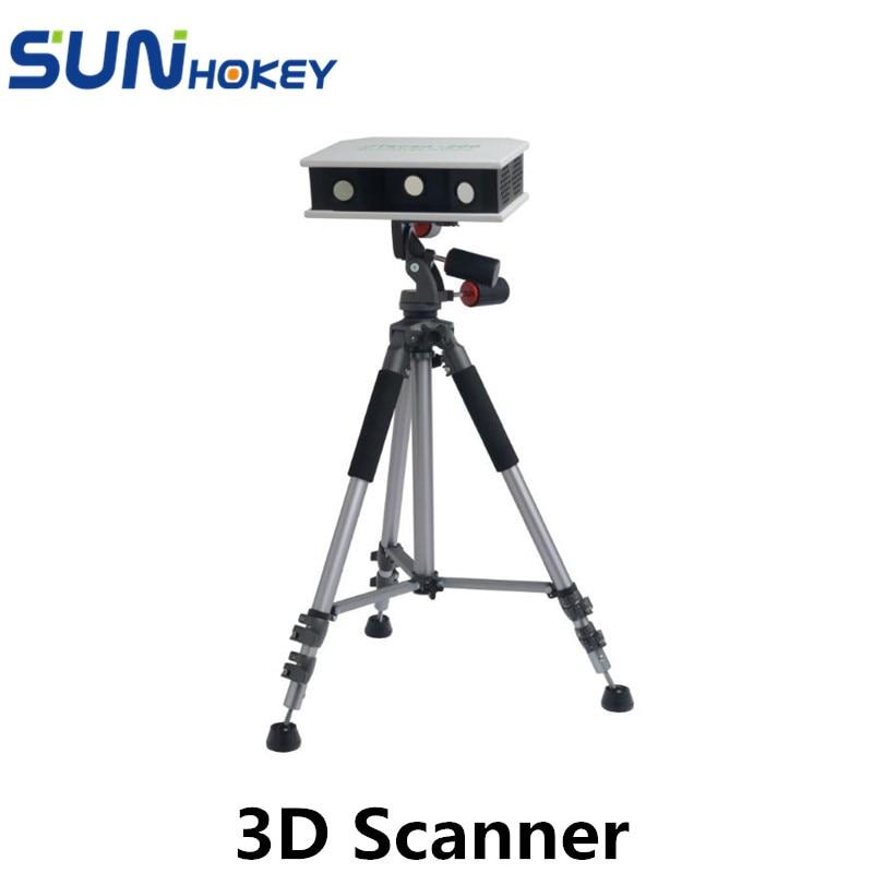 Sunhokey High Accuracy 0.008-0.01mm Industrial grade 3D Scanner Sunscan-SL for 3D Printer