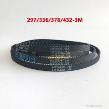 4pcs XY Cinto Pan Tilt Movimento Cintos para Iluminação Cénica 375 3M 477 3M 432  3M 294 3M 3M 378 336 3M