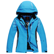 Outdoor waterproof windrpoof set skiing jacket free shipping men's winter ski set snowboard suit men Thicker coat