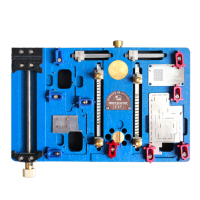 Mechanic  Muti-functional Maintenance Platform Heating Fixture For iPhone x motherboard A11 Chip Location Tin Plant Glue Remove