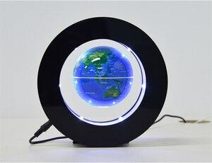 Image 5 - 2021 Floating Levitazione Magnetica Globo Mappa Del Mondo di Luce di Notte Lampada Della Sfera Della Novità Luci Ufficio Complementi Arredo Casa Globo Terrestre