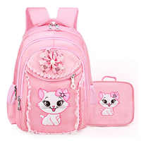 Princesa Gato Crianças Backpack School Bolsas Para Meninas Miúdo Dos Desenhos Animados Mochila Crianças Mochila Escolar Mochilas Escolares Infanti
