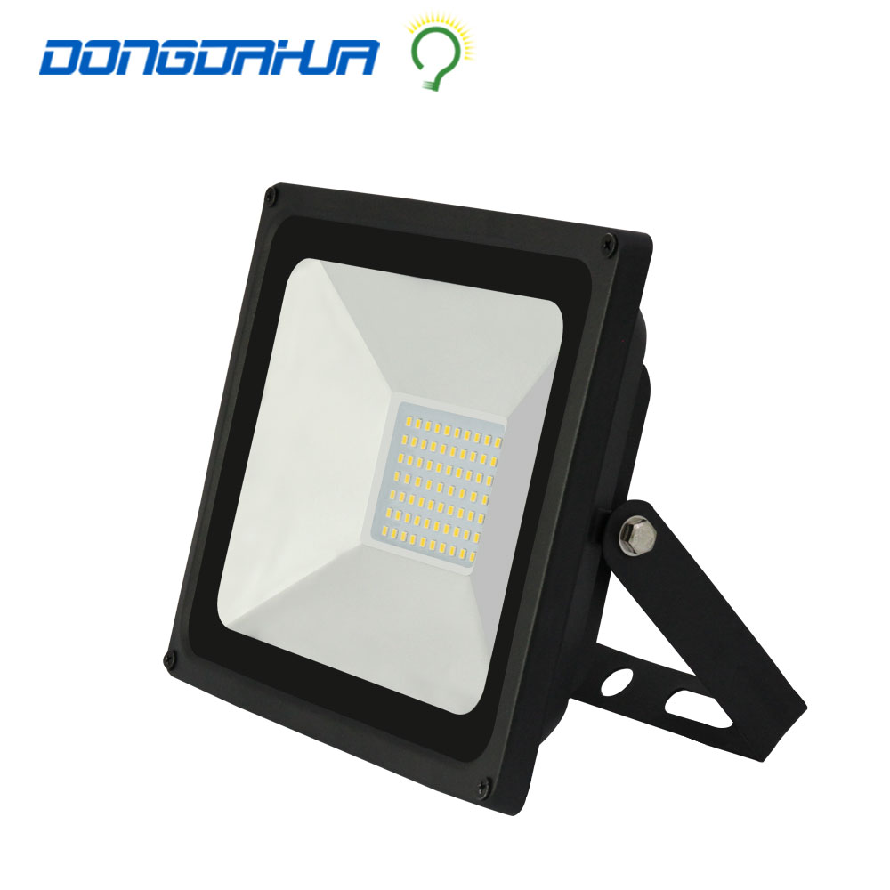excellent quality  220 v 50 w  led flood light led lamp black  floodlight outdoor garden lamps ultrathin led flood light 200w ac85 265v waterproof ip65 floodlight spotlight outdoor lighting free shipping