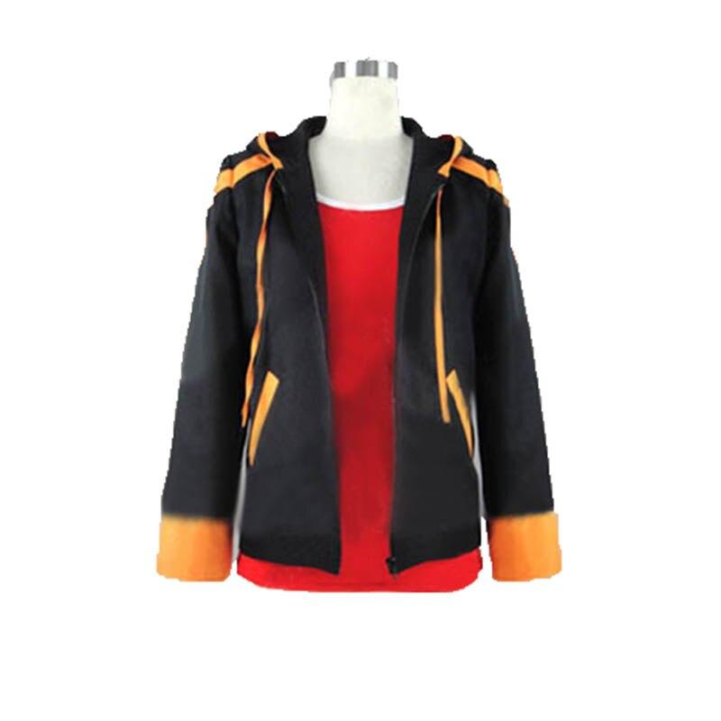 anime Mystic Messenger 707 Sweater Hoodie Sweatshirt Cosplay Costume Zipper Warm