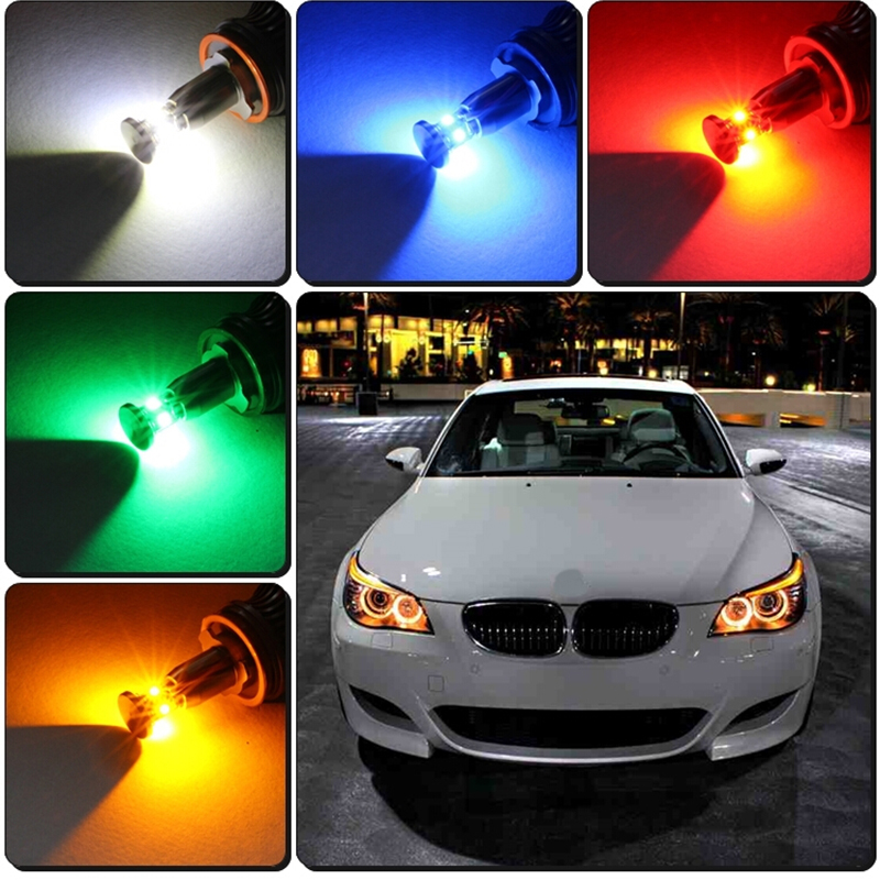 Здесь можно купить  2Pcs Wifi control Cree chips 36w LED Halo Light H8 LED Angel Eyes for BMW E60 E61 E90 E92 E70 E71 E82 E89 1 3 5 Series X5 X6 Z4  Автомобили и Мотоциклы