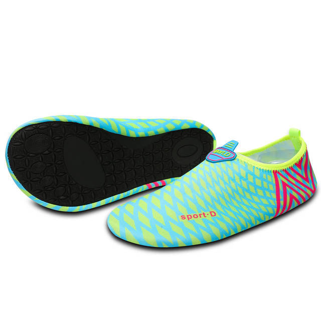 90ada2fde279 Joomra Unisex Aqua Shoes Outdoor Sports Sneakers Summer Beach Quickly-dry  Seaside Wading Shoes Skiing