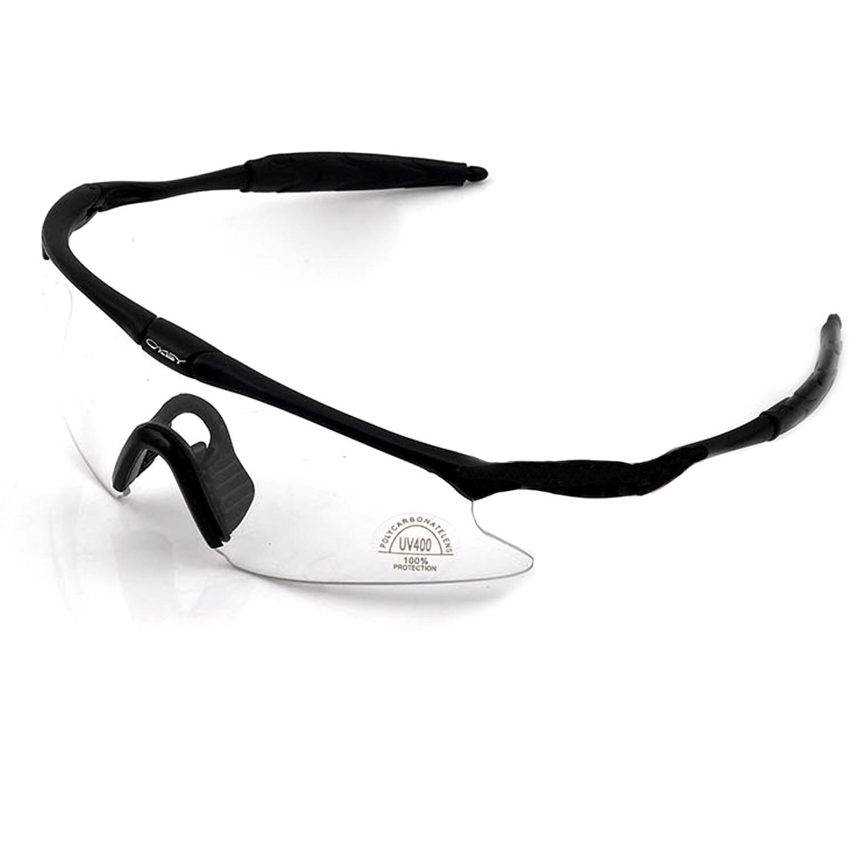 UV400 Perlindungan Motor Bersepeda Kacamata Goggle Windproof Riding Olahraga Kacamata Safety Kacamata Taktis Clear