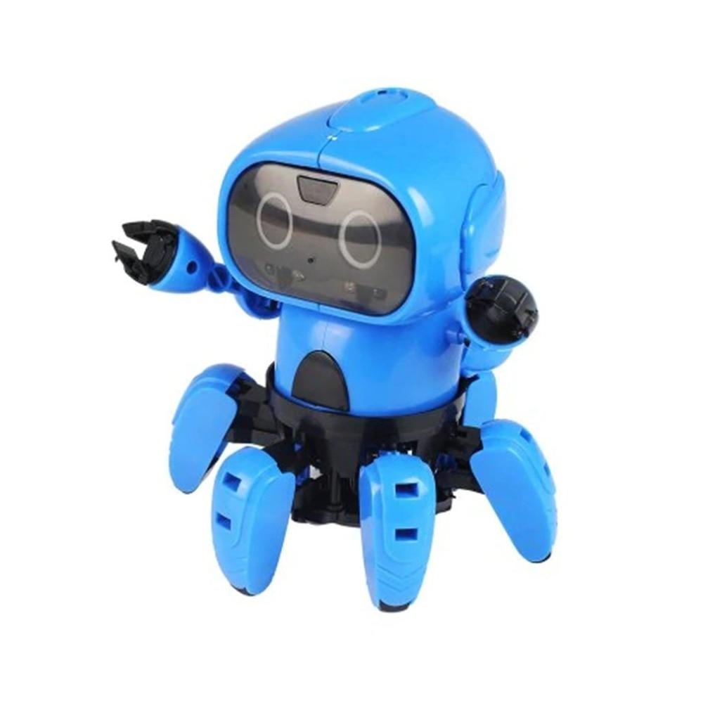 Enfants Salut-Technologie Première TIGE Robot Kits DIY Mécanique Robot Bâtiment Jouets Jeu Éducatif Science Jouet pour Garçons Filles enfants Cadeau