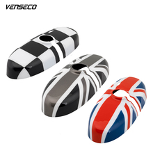 MINI interior mirror cover car sticker national flag car styling OEM interior accessories for mini one cooper clubman countryman