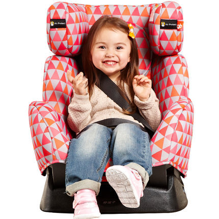 El más nuevo estilo de coche de niño asiento de seguridad para 0-7 años de edad del niño