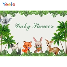 Yeele Baby Shower Birthday Decor Animals Cartoon Photography Backdrops Personalized Photographic Backgrounds For Photo Studio