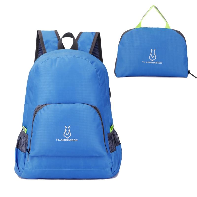 Foldable Backpack Lightweight Nylon for Men