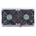 2016 Nuevo 2 Unids 120 W Termoeléctrico Peltier Refrigeración Sistema de Refrigeración Refrigerador Ventilador Disipador Fan Kit DIY