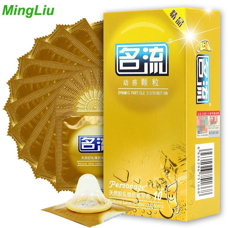 Mingliu 10 stks/partij contex Condooms voor mannen addicted levensstijl natuurlijk latex condoom Preservativo speciale Veiliger sex Anticonceptie