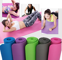Thicken Yoga Mat 10 mm Durable For Beginners Anti Slip sport mat Fitness Equipments Health Lose Weight gym mat