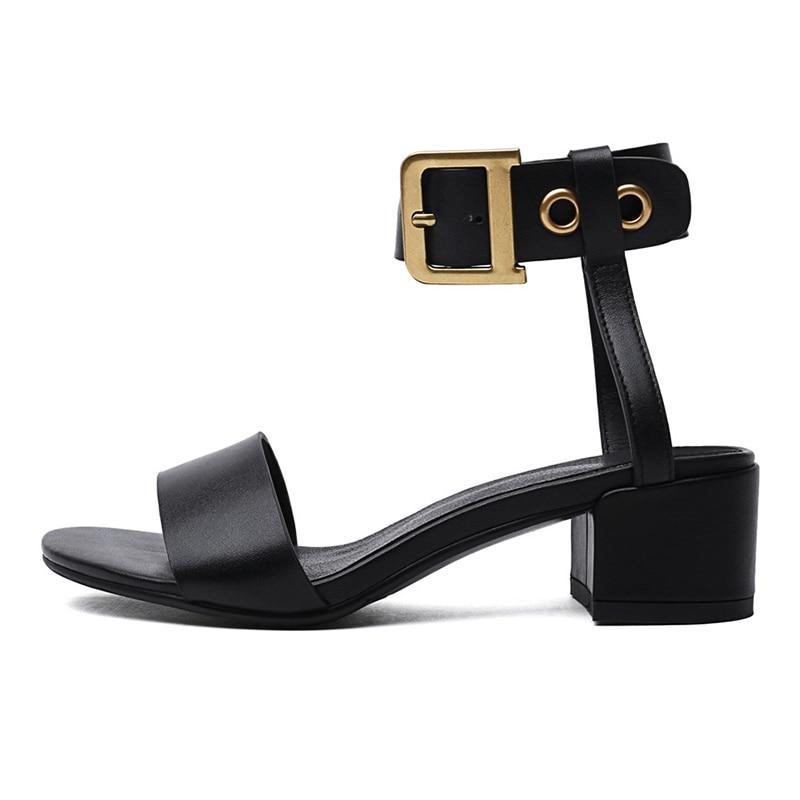 Женские ботильоны с квадратным носком на толстом среднем каблуке 4 см, с перекрестной шнуровкой, на молнии, Офисная модная повседневная обув... - 4