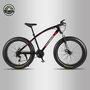 Image 2 - Love Freedom Top quality Bike 7/21/24/27 Speed 26 * 4.0 Fat Bike Shock Absorbers Bicycle Free Delivery Snow Bike
